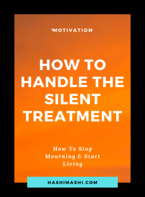 How to Handle The Silent Treatment With Dignity Image Credit HashiMashi.com