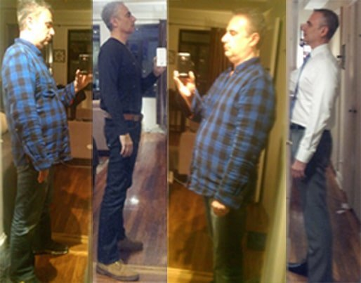 getting fit at 50 before and after photos
