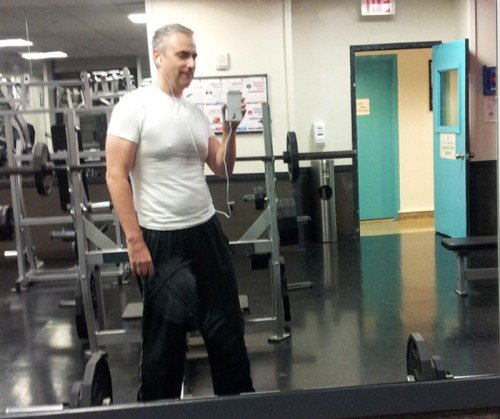 Deadlift Workout of 160 pounds and Squat Workout of 125 pounds