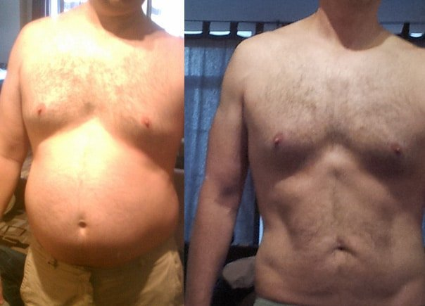 Weight loss before and after pictures - Hashi Mashi Diet + Training - Fit Apprentice
