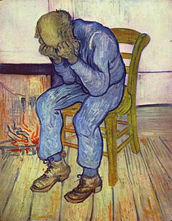 Definition of Depression Van Gogh 1890 - While we see a visual definition of depression, there are strategies to effectively fight and manage your depression.
