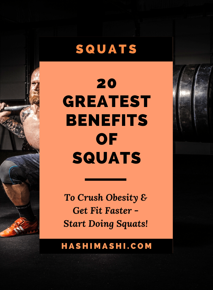 20 Greatest Benefits of Squats - The King of Exercise