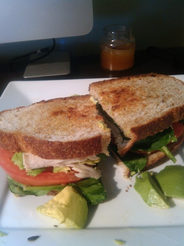 How to Lose 20 pounds in 3 months with a simple turkey sandwich for lunch