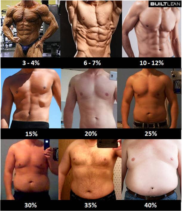 Fat Loss Goals. Choose what you want to look like