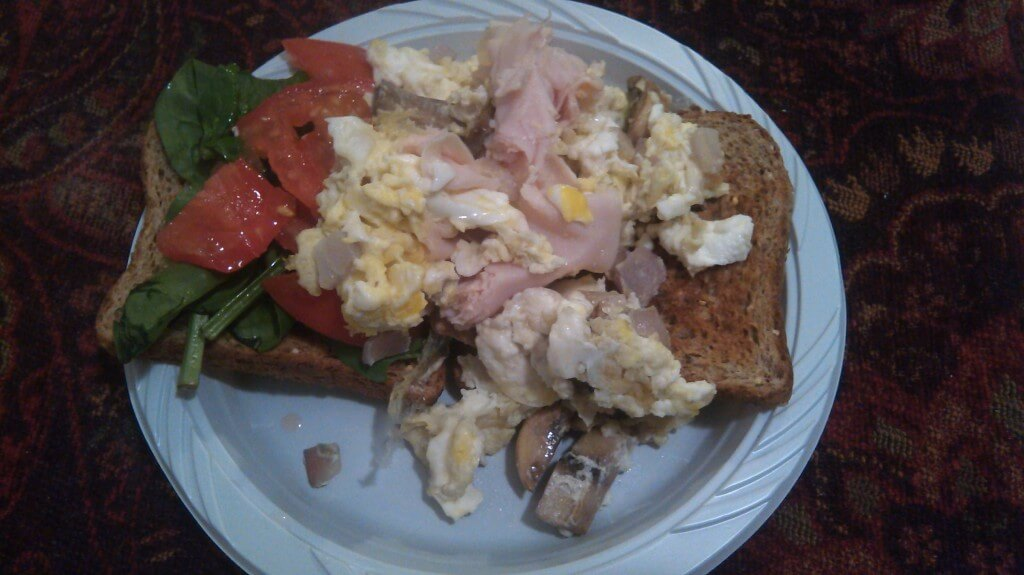 How to Lose 10 Pounds in a Week Breakfast Day 1