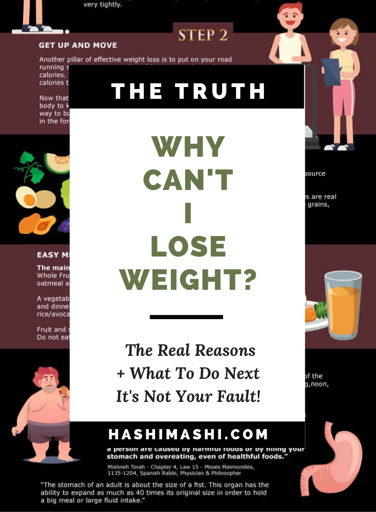 Why Can't I Lose Weight_ The Real Reasons