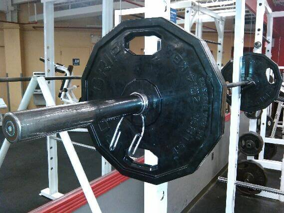 squats lower body workout 135 pounds