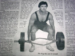 trap bar deadlift inventor Al Gerard - Hashi Mashi™ Fit Apprentice program