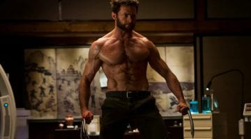Hugh Jackman Deadlift Photo Credit Gawker Media - 20th Century Fox