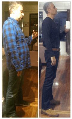 Hashi Mashi Diet and Fitness plan Before and After - Image Credit HashiMashi.com