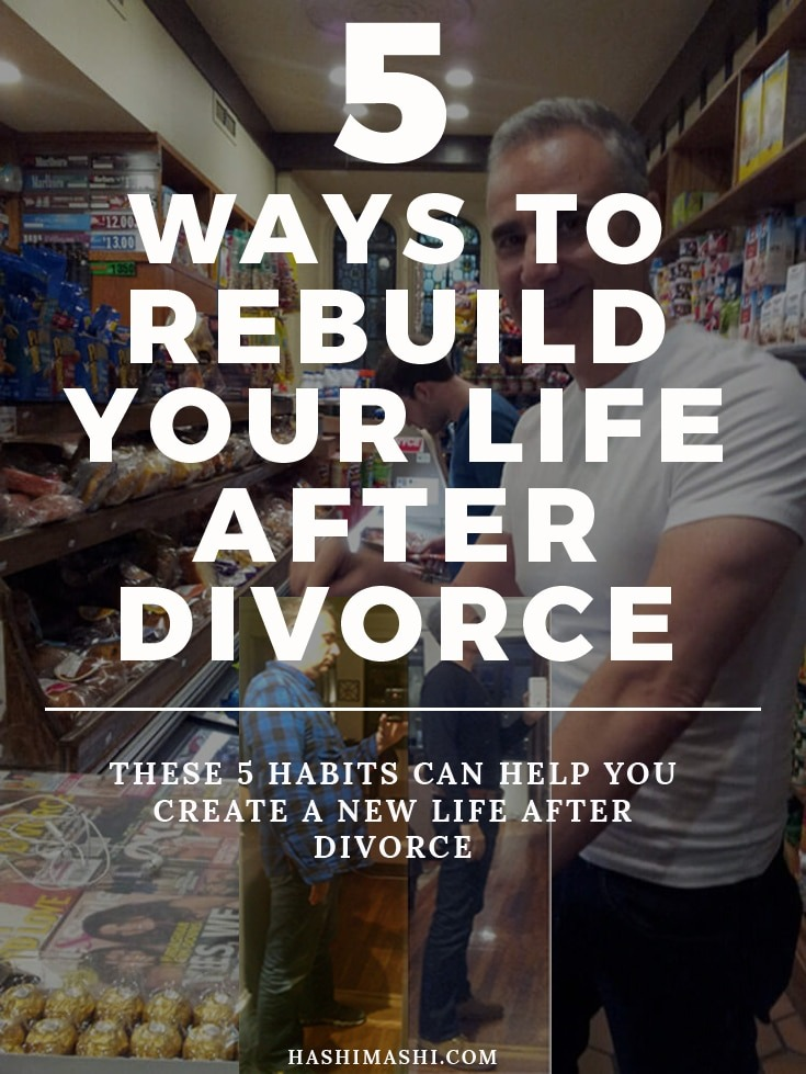rebuild your life after divorce