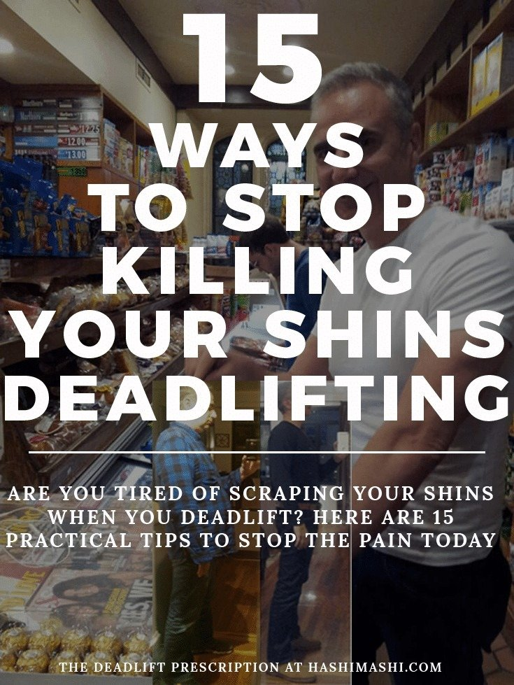 15 scraping shins deadlift prevention tips