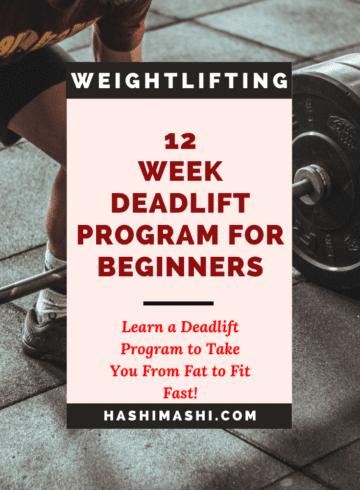 12 Week Deadlift Program For Beginners in Fitness or Powerlifting