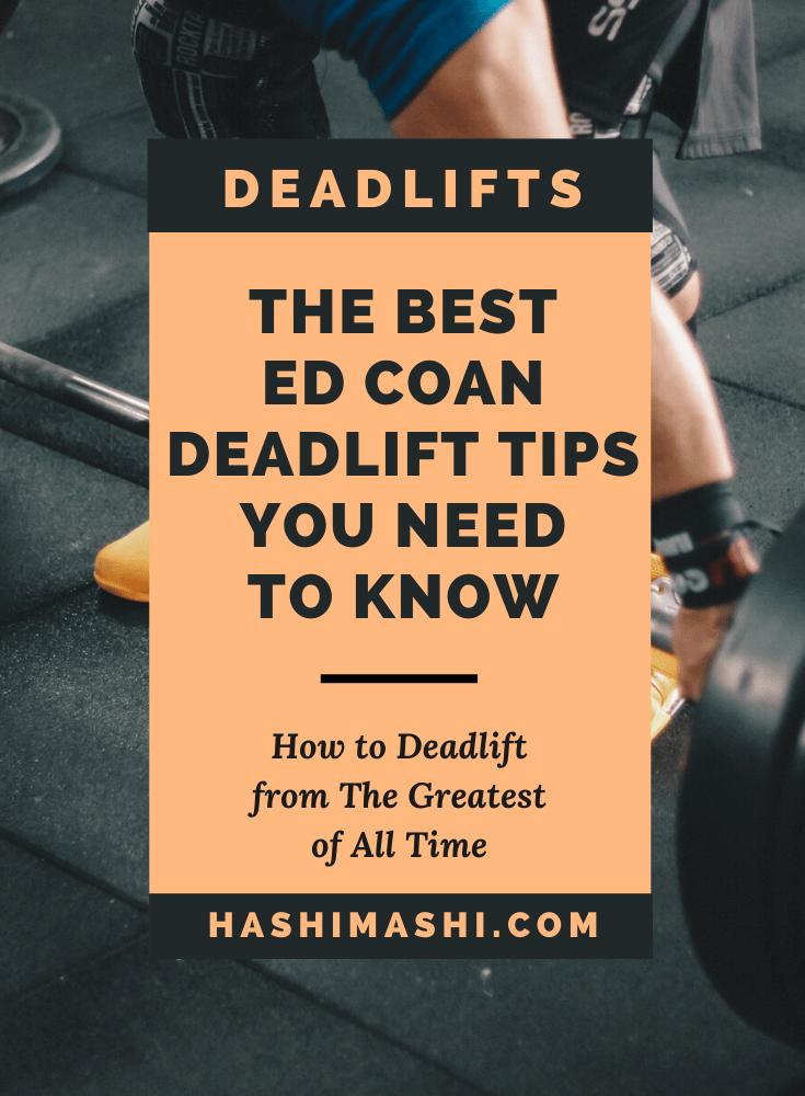 Ed Coan Deadlift Program Tips You Need to Know