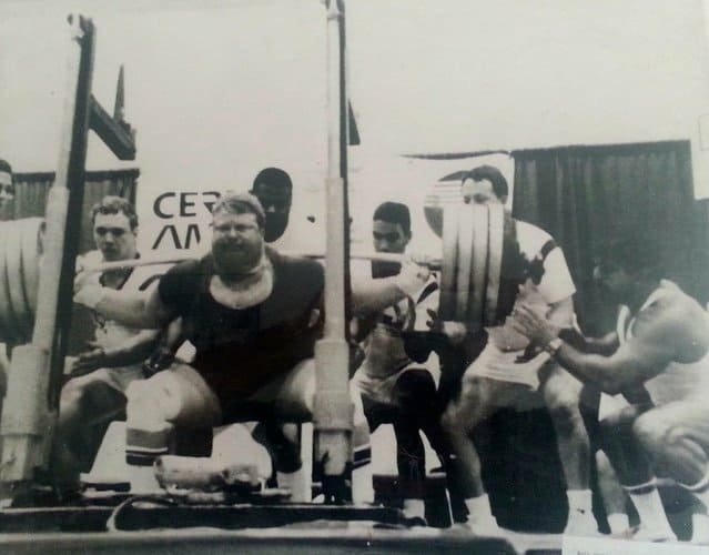 dimel deadlift matt dimel squatted 1010 pounds in the 1980s