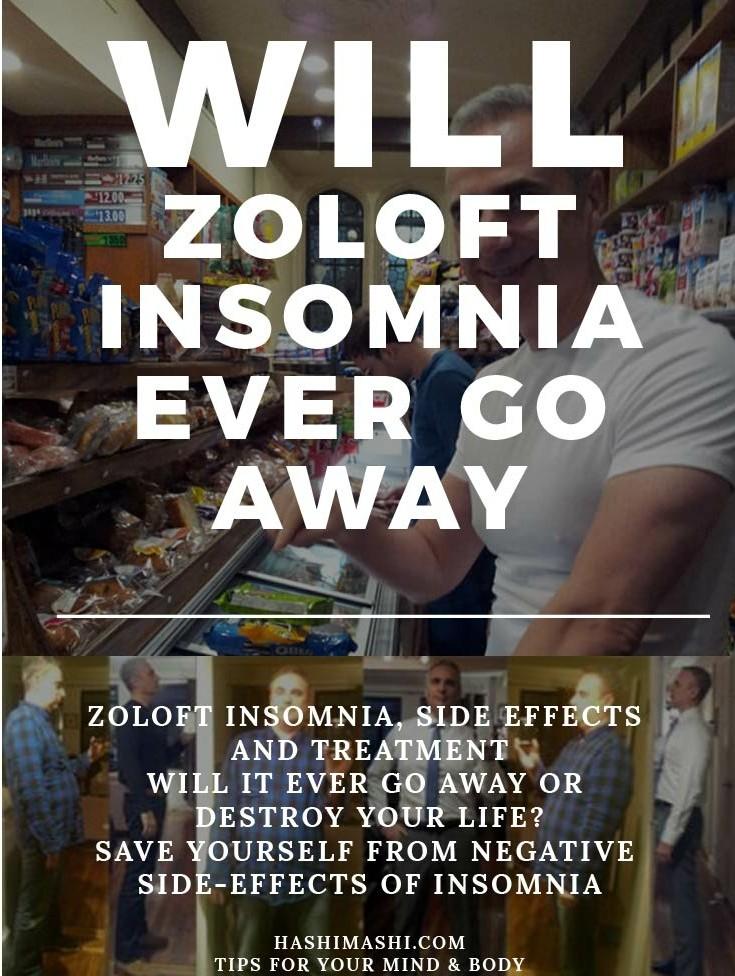 zoloft insomnia