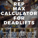 1 rep max calculator deadlift - Hashi Mashi Fit Apprentice beginner deadlift Program