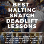 halting snatch deadlift lessons from Dmitry Klokov