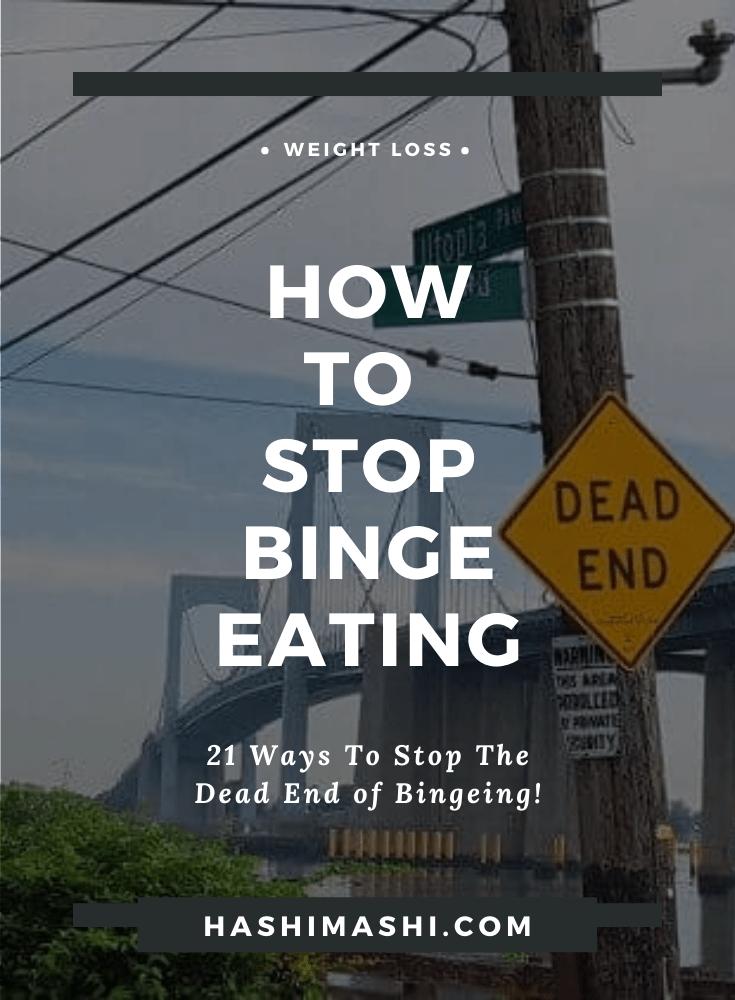 How to Stop Binge Eating and Get Your Life Back Image Credit HashiMashi.com