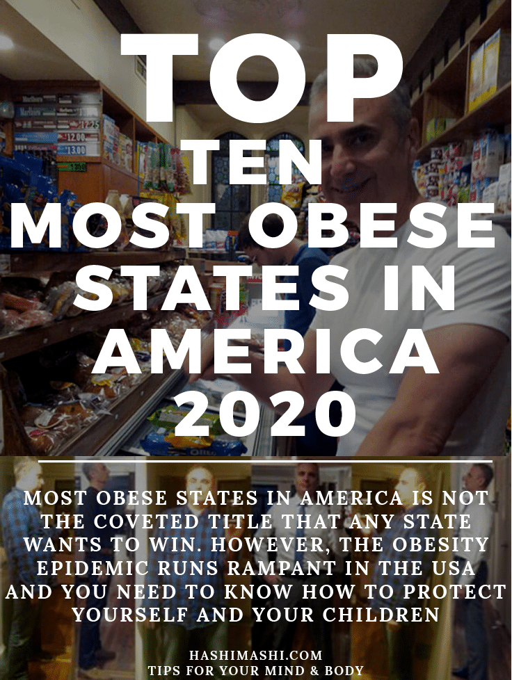 most obese statees in America Image Credit - HashiMashi.com
