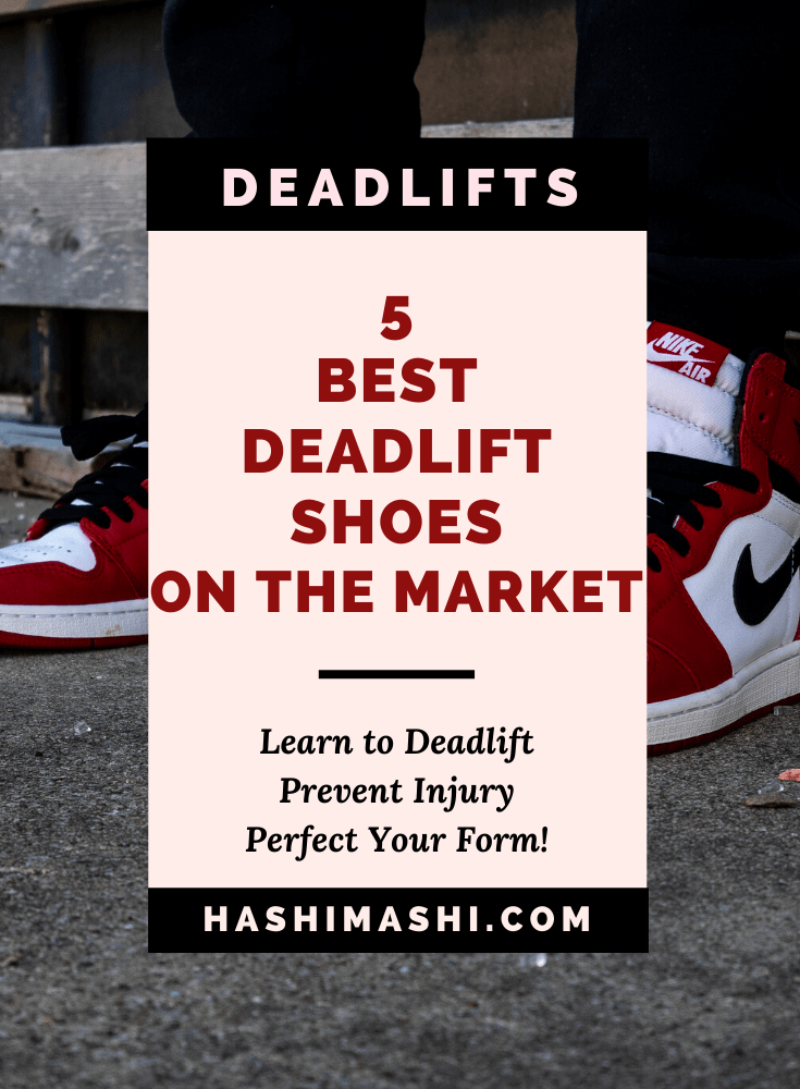 best trainers for deadlifting