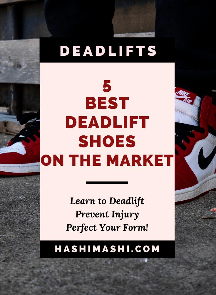 best sneakers for deadlifts