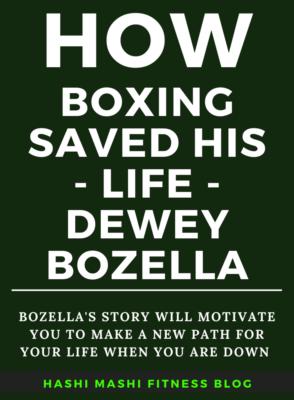 The Dewey Bozella Story - How Boxing Saved His Life - Image Credit HashiMashi.com