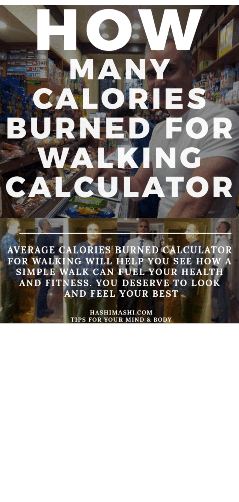 Average Calories Burned Calculator for Walking 30 Minutes