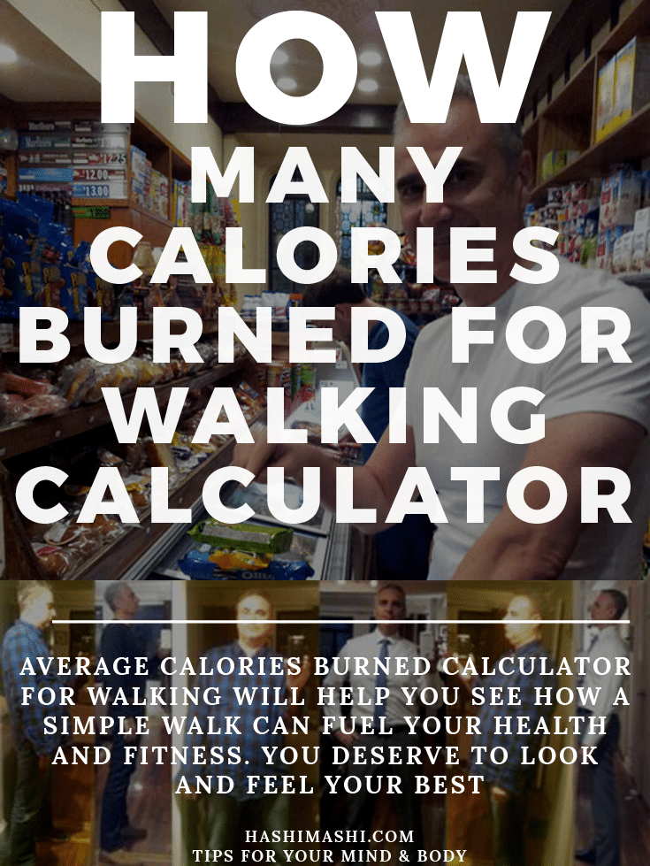 calories burned calculator for walking