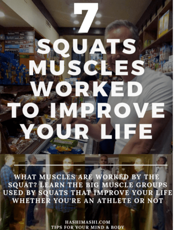 squats muscles worked