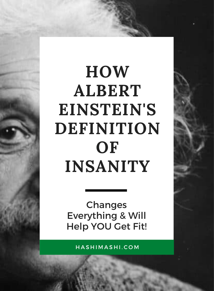 Albert Einstein's Definition Of Insanity Changes Everything Image Credit_ Orren Jack Turner