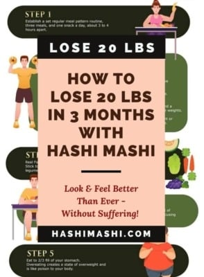 How To Lose 20 Pounds In 3 Months Without Suffering Image Credit HashiMashi.com
