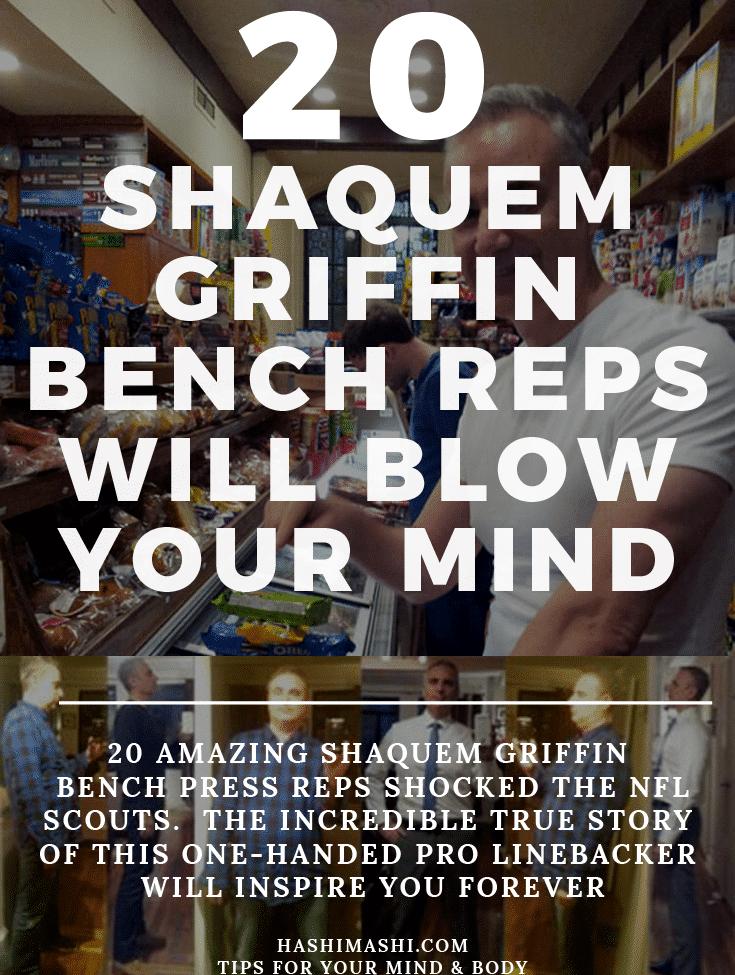 shaquem griffin bench press