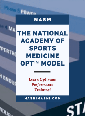 NASM OPT Model - A Guide to Optimum Performance Training Background Image Credit - NASM.org