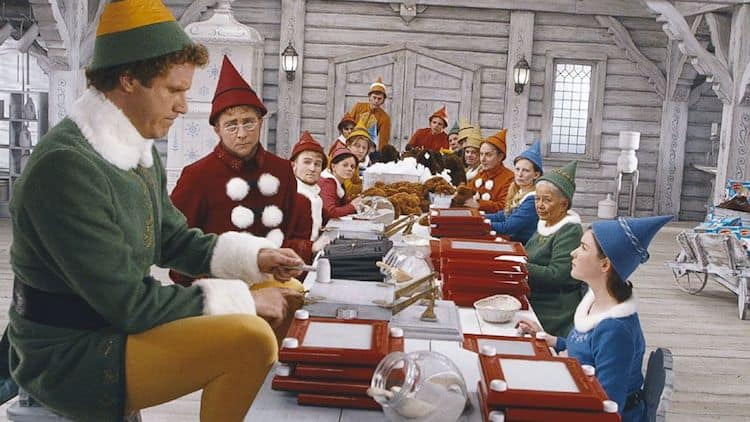 overhead squat assessment Elf Mnemonic Image Credit Elf Movie