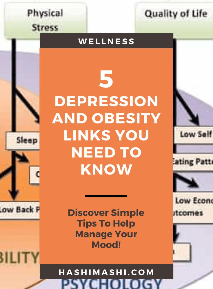 5 Depression and Obesity Links You Need To Know Image Credit HashiMashi.com