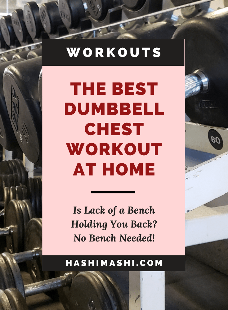 Best Dumbbell Chest Workout At Home - No Bench Needed