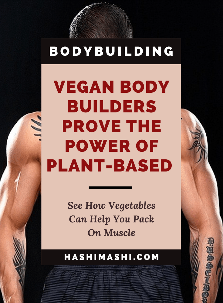 Vegan Bodybuilders Prove The Power Of A Plant-Based Diet Avrid Beck Image Credit Daily Mail
