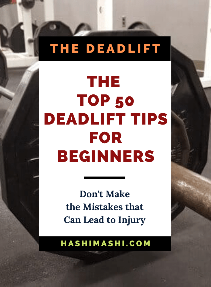 50 Best Deadlift Tips for Beginners Image Credit HashiMashi.com