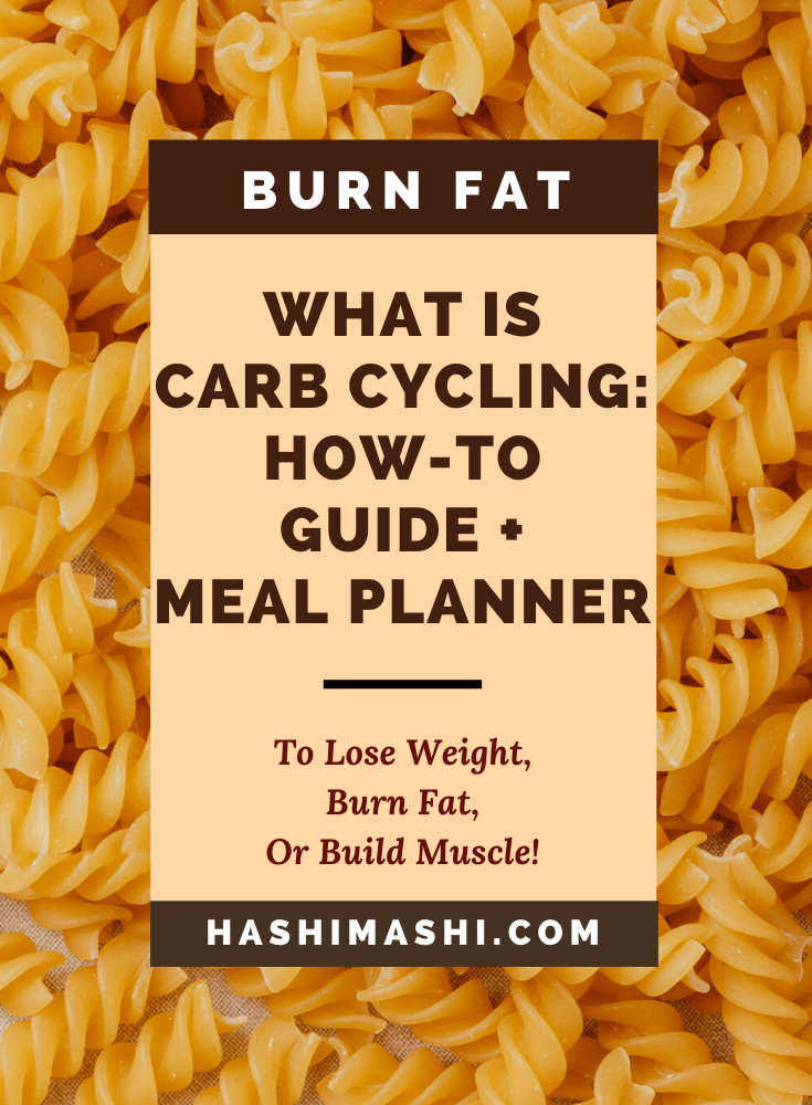 What Is Carb Cycling_ How To Guide + Meal Planner