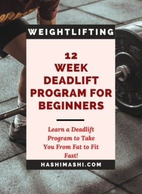 Deadlift Program For Beginners in Fitness or Powerlifting Image Credit HashiMashi.com