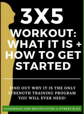 3x5 Workout Plan: The Only Strength Training Program You Will Ever Need - Image Credit HashiMashi.com - Image Credit HashiMashi.com