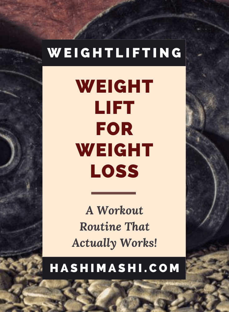 Weight Lift For Weight Loss: A Workout Routine That Actually Works