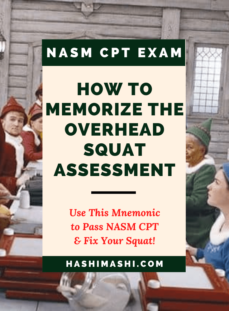 How to Memorize the Overhead Squat Assessment for NASM CPT Image Credit Elf Film New Line Cinema (1)