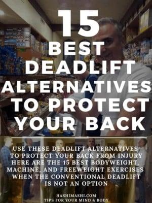 Deadlift Alternatives to Protect a Bad Back Image Credit HashiMashi.com