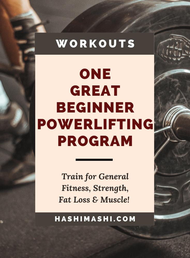 Beginner Powerlifting Program for Fitness & Strength