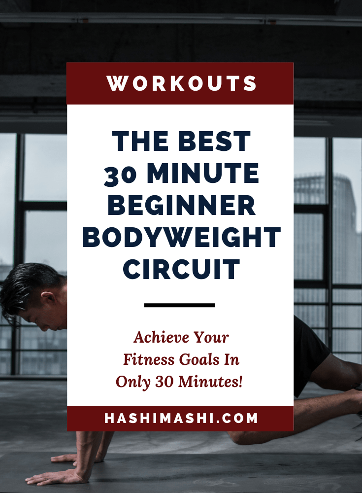 Beginner Bodyweight Workout Plan in Only 30 Minutes