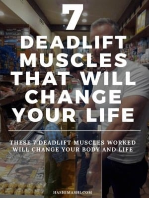 Deadlift Muscles Worked That Will Change Your Life Image Credit HashiMashi.com