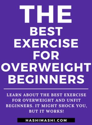 Best Exercise for Overweight Beginners - Image Credit HashiMashi.com