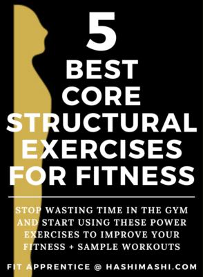 5 Best Core Structural Exercises for Fitness + Training Program - Image Credit HashiMashi.com